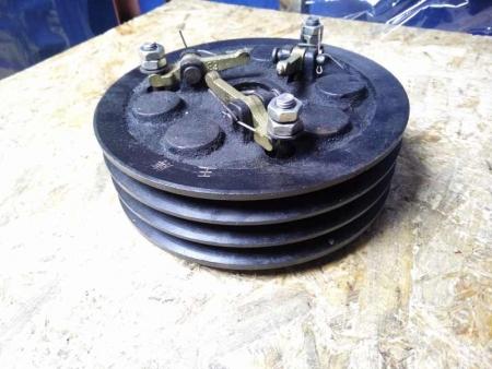 Сцепление в сборе (3 ручья 2-х дисковое) МБ1080 - МБ1012
