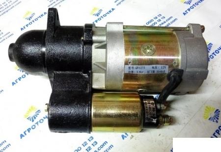 Стартер в сборе редукторный QD1275 3 кВт (10 зубов) ДД15ВЭ (DW150)