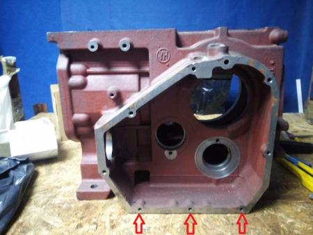 Блок цилиндра R195 (крышка картера на 8 болтов)