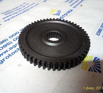 Шестерня вторичного вала (52 зуба, 19 шлицов) МБ4063Б