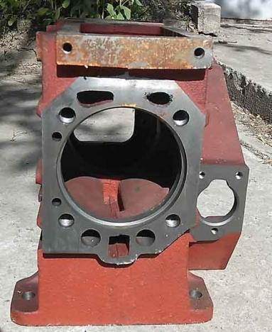 Блок цилиндра ДД15ВЭ (DW150)