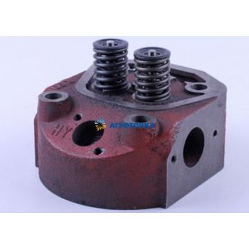 Головка цилиндра в сборе (клапана, пружины, тарелки, сухари) R190 -