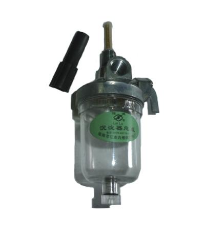 Кран топливный с отстойником (ø резьбы в бак 13 мм) FT204/244