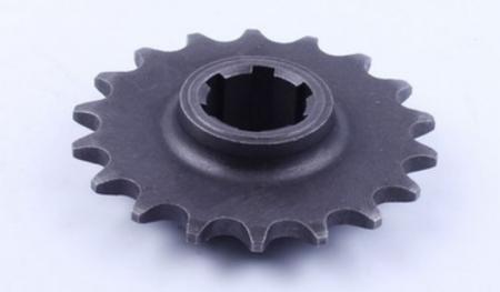 Звездочка выходного вала редуктора (18 зубов, 6 шлицов) МБ4063Б