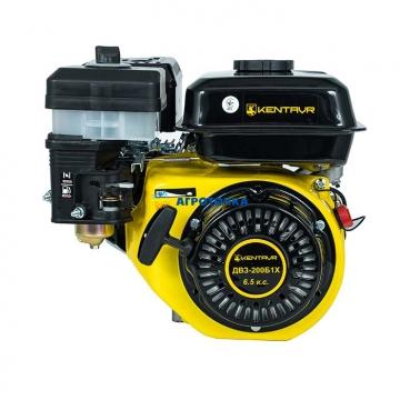 """Двигатель бензиновый 6,5 л.с. """"Кентавр ДВЗ-200Б1Х"""" Ø=20,00 мм -"""