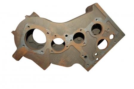 Корпус КПП, крепление рамы на 5 болтов (разболтовка чулка 4х98 мм) мототрактора