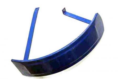Крыло правое переднее синее XT220 18.31.103