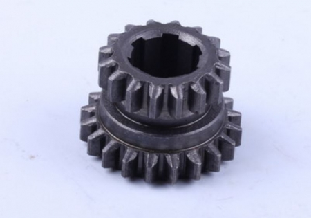 Шестерня входного вала (16/20 зубов, 6 шлицов) МБ4063Б