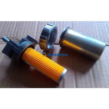 Кран топливный с отстойником (метал.) R175/180 -