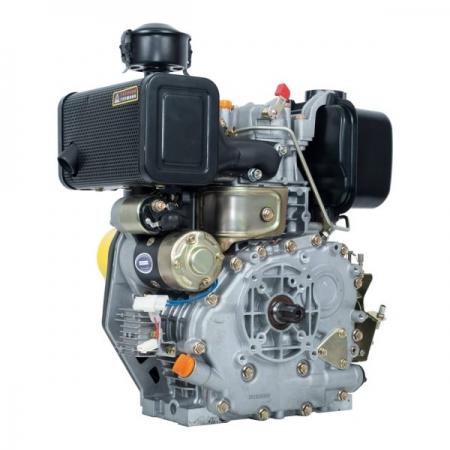 Двигатель дизельный 6 л.с. ДВУ-300ДШЛЕ (6 шлицов вал 25 мм, электростартер)