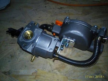 Карбюратор в сборе (газ-бензин) 168F/170F