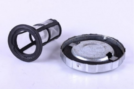 Крышка топливного бака и сетка  (потайная горловина) R175/180