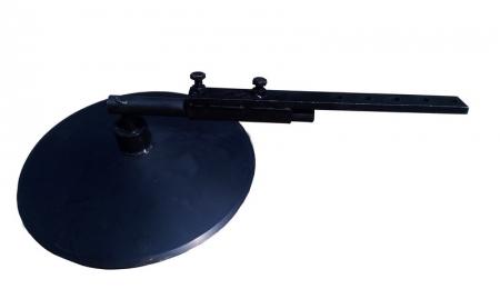 Диск окучника со стойкой Ø380 (на 2-х подшипниках)