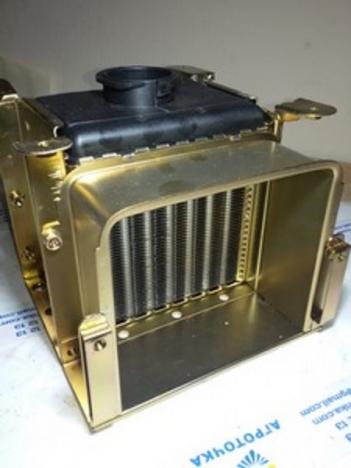 Радиатор (алюминиевые круглые соты) R185/190/192