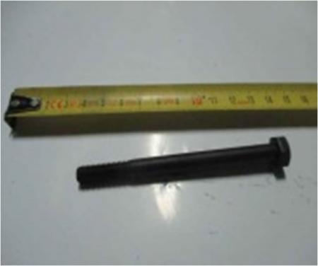Болт фиксатора руля левый МК30-3 LC1P61FA