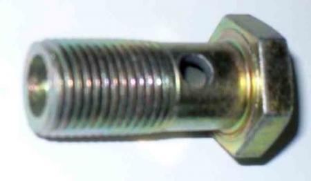 Болт штуцерный гидрораспределителя впускной XT120