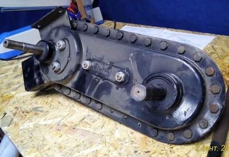 Редуктор в сборе (шестигранник Ø 22 мм) ZIRKA  SH 41/41A