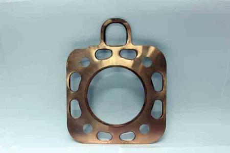 Прокладка головки блока цилиндра (Д=101мм, медь) DLH1100