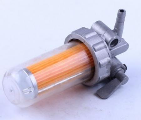 Кран топливный с отстойником (пластик.)  R175/180