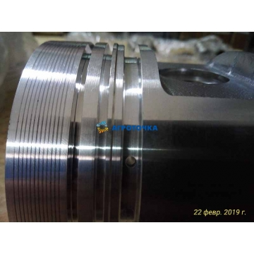 Поршень R195 (95,00 мм) (форкамера круглая, на 3 поршневых кольца) -