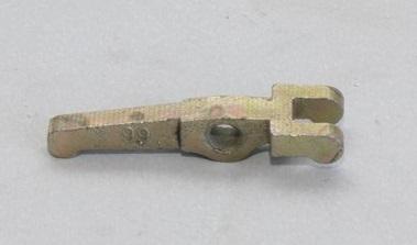 Рычаг отжимной (лапка) L=72 мм МБ1080 - МБ1012