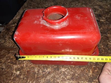 Бак гидравлики (на крыло) мототрактора