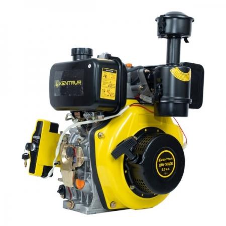 Двигатель дизельный 6 л.с. ДВУ-300ДЕ (шпоночный вал 25 мм, электростартер)